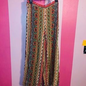 Boho Long Flowy Pants!